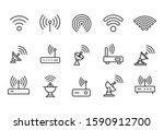 modern thin line icons set of...   Shutterstock .eps vector #1590912700