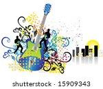 music background | Shutterstock .eps vector #15909343