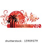 sumer background | Shutterstock .eps vector #15909379