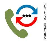 call center icon   call center... | Shutterstock .eps vector #1590940393