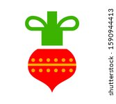 christmas decorations ornament  ... | Shutterstock .eps vector #1590944413