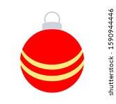 Christmas Ball Icon. Holidays...