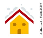 Winter House. Vector Image Of...