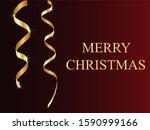 golden serpentine with the... | Shutterstock .eps vector #1590999166