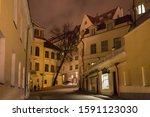 tallinn  estonia   january 12 ... | Shutterstock . vector #1591123030