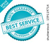 vector   quality management... | Shutterstock .eps vector #159119714