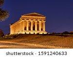 Temple Of Concordia  Tempio...