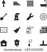construction vector icon set... | Shutterstock .eps vector #1591243390