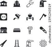 construction vector icon set... | Shutterstock .eps vector #1591243519