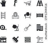 construction vector icon set... | Shutterstock .eps vector #1591244416