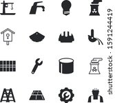 construction vector icon set... | Shutterstock .eps vector #1591244419