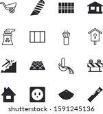 construction vector icon set... | Shutterstock .eps vector #1591245136