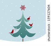 Twitter Birds On The Christmas...