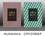 turkish pattern vector cover... | Shutterstock .eps vector #1591318069
