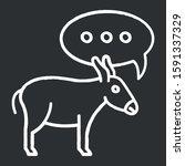 Balaam Donkey Bible Story Chalk ...
