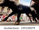 Pamplona  Spain July 13  Bulls...