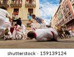 Pamplona  Spain July 12  Peopl...