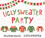 Vector Ugly Sweater Party...