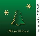 abstract elegant christmas... | Shutterstock .eps vector #159155660