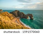The Stunning Durdle Door At...