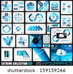 extreme collection of 25... | Shutterstock .eps vector #159159266