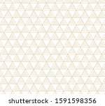 abstract geometric pattern... | Shutterstock .eps vector #1591598356