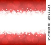 christmas background | Shutterstock .eps vector #159161156