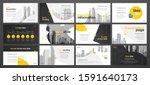 presentation template design.... | Shutterstock .eps vector #1591640173