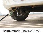 filling autogas lpg or liquid... | Shutterstock . vector #1591640299