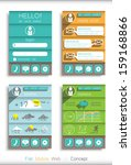 infographic elements in...