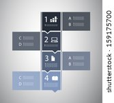 infographic design | Shutterstock .eps vector #159175700