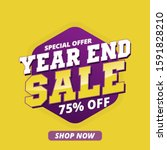 year and sale discount  purple  ...   Shutterstock .eps vector #1591828210