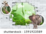 3d Mural Wallpaper For Kids...