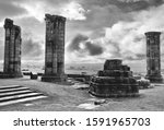 Historic Whitby Abbey View In...