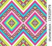 colorful zig zag pattern ...   Shutterstock .eps vector #159203978