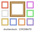 9 Colorful Square Frames For...