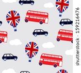british transport background | Shutterstock .eps vector #159216476