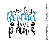My Big Brother Have Paws  Funny ...