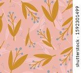 simple and elegant vector...   Shutterstock .eps vector #1592301499