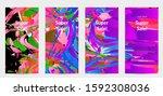 abstract social media template...   Shutterstock .eps vector #1592308036