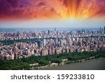 new york. beautiful manhattan... | Shutterstock . vector #159233810