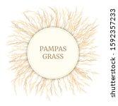 Silver Golden Pampas Grass Car...