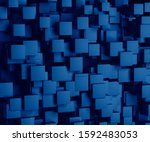 3d rendering abstract image of...   Shutterstock . vector #1592483053