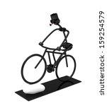 cycling long trinket | Shutterstock . vector #159254579