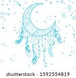 Hand Drawn Dreamcatcher....