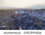 The Snow Covered Rio Grande...