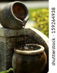 Stone Pitcher Of Water