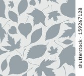 vector seamless pattern with... | Shutterstock .eps vector #159267128