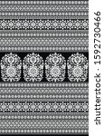 textile traditional paisley... | Shutterstock . vector #1592730466