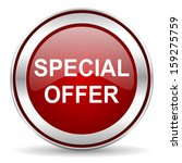 special offer icon  | Shutterstock . vector #159275759